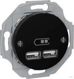 Elso USB-Ladestation schwarz RENOVA WDE011761
