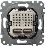 Merten USB-Ladestation-Einsatz MEG4366-0100