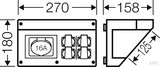 Hensel FP Connection Box für den Geräteeinbau FP CB 216
