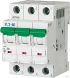 Eaton / Möller LS-Schalter mit Beschrift. C 6A, 3p PXL-C6/3
