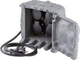 EVN Lichttechnik Energieverteiler 4-fach IP44-230V-3680W/16A 230415