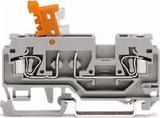 WAGO Trenn und Messklemme 0,08-2,5mmq grau 280-870