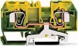 WAGO Schutzleiterklemme 0,2-10mmq gn/gelb 284-907