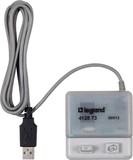 Legrand BTicino PC-Adapter und Software AlphaRex3 412873