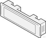 Renz Metallwaren Kombitaster LIRA 75x22 weiss 97-9-85110 ws