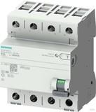 Siemens FI-Schutzschalter B 63/4 300MA 4TE 5SV3646-4