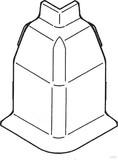 Rehau SL-L Ausseneck 20/50 cremeweiß (cws) 12418371150