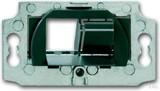 Busch-Jaeger Montageadapter Kanal Mod.-Jack 2-fach 0219/13