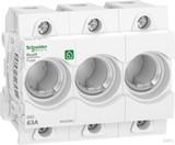 Schneider Electric Neozed Sicherungssockel 1P, 63A, 400V R9J02363