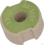 Mersen D-Schraub-Paßeinsatz D II, 6A grün 1657.006