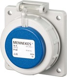 Mennekes Schuko-Anbau-Steckdose 16A2p+E 230V IP68 BL 17022