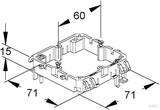 Niedax Geräteträger GDTR 15