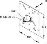 Niedax Montageplatte MIMPA 30/175 F