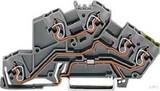 WAGO Etagenklemme 0,08-2,5/4mmq grau 775-645