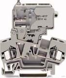WAGO Sicherungsklemme 0,08-4mmq grau 281-611/281-417