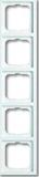 Busch-Jaeger Rahmen 5-fach future linear 1725-184K