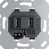 Jung USB-Ladesteckdose USB3-2SW