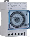 Legrand BTicino Tagesschaltuhr sync. 120V 50Hz MicroRexT31/412816