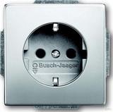 Busch-Jaeger Steckdosen-Einsatz ed mit Steckanschluss 20 EUC-866