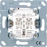 Jung Jalousie-Wippschalter 10AX 250V Sch. 1-polig 509 VU