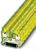 Phoenix Contact Schutzleiter-Reihenklemme 5,2 mm, grün-gelb PIT 2,5-PE