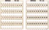 WAGO WMB-Bezeichnungssystem W: 1-50(2x) 793-566
