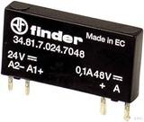 Finder SSR-Relais 24VDC 16.. 30V 7mA 34.81.7.024.9024