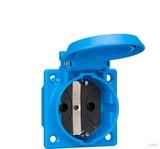 ABL Sursum Einbau-Steckdose blau, IP54 1661050