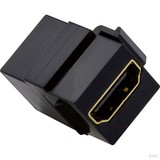 Merten HDMI-Anschlussdose 1-fach Einsatz grau MEG4583-0000