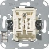 Jung KNX Taster BA 2-fach Mittenstellung 4072.02 LED