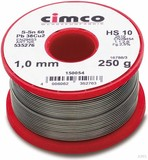 Cimco Elektroniklot 60% 1,0mm 500g 15 0056