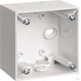 Berker Aufbau-Gehäuse polarweiß (pws) 1fach 911512509