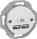 Elso USB-Ladestation cremeweiß (ws) RENOVA WDE011760
