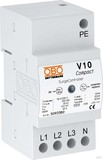 OBO Bettermann Überspannungsableiter 3+NPE V10 COMPACT 255