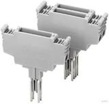 Phoenix Contact Bauelement-Stecker leer, h=19mm, grau ST-BE (10 Stück)