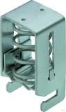 Weidmüller Klemmbügel D=15.. 28mm Sammelschiene 10x3mm KLBÜ CO 4  (10 Stück)