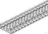 Niedax Kabelrinne sendzimirverzinkt RL 60.300 (3 Meter)