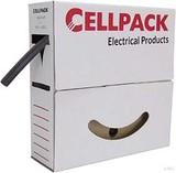 Cellpack Schrumpfschlauch in Abrollbox 10m SB 4.8-2.4 sw