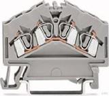 WAGO Durchgangsklemme grau 0,08-2,5qmm 280-646