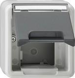 Gira 026230 Gehäuse für Datentechnik wassergeschützt Aufputz Grau