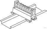 Kleinhuis PE-Leiterklemme 651S/7