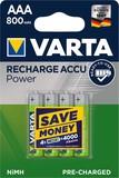 Varta Ready2Use Akku Micro 800mAh 4er