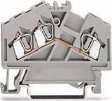 WAGO Durchgangsklemme grau 0,08-2,5qmm 280-641