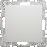 Berker Blindverschluss polarweiß/matt mit Zentralstück 6710091909