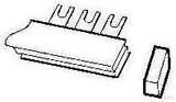 ABB Stotz Endkappe für Sammelschienblo. PSB-END 6