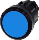 Siemens Drucktaster 22mm, rund, blau 3SU1000-0AB50-0AA0