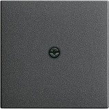 Gira 027428 Abdeckung Schnurableitung+VDO System 55 Anthrazit
