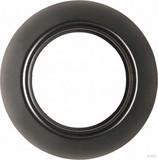 Elso Rahmen schwarz,1-fach WDE011420