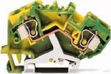 WAGO Schutzleiterklemme 0,2-10mmq gn/gelb 784-607