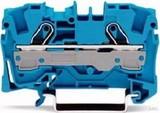 WAGO Durchgangsklemme 0,5-6/10qmm blau, 2L 2006-1204